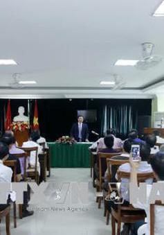 Người Việt tại Lào quyết tâm xây dựng cộng đồng đoàn kết, vững mạnh