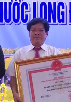 Phước Long đón nhận danh hiệu huyện nông thôn mới