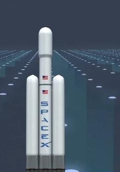 Space X chuẩn bị phóng tên lửa mạnh nhất thế giới