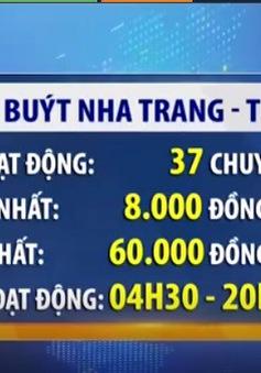 Mở tuyến xe bus Nha Trang - Tuy Hòa