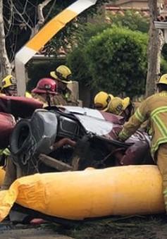 Trực thăng rơi vào nhà dân ở California, 3 người thiệt mạng