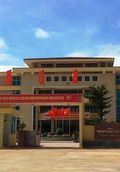Quảng Bình phát hiện Bí thư huyện bổ nhiệm, tiếp nhận nhiều người thân trái quy định