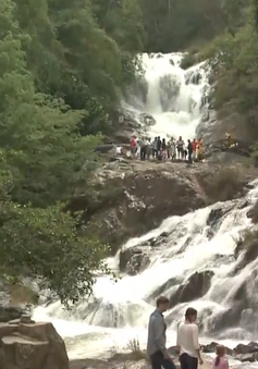 Đà Lạt chỉ cho phép du khách nhảy thác Datanla ở độ cao 7m