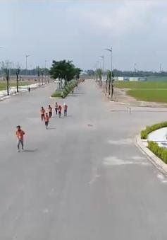 Chạy gây quỹ vì nụ cười trẻ em