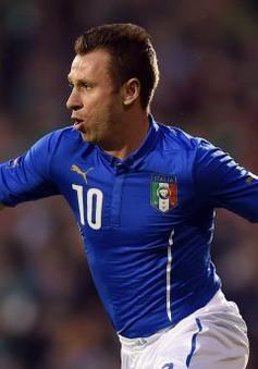Cassano tuyên bố giải nghệ sau 1 tuần trở lại tập luyện