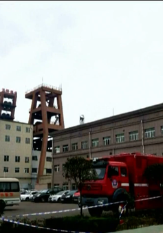 Sập mỏ than tại Trung Quốc, nhiều người mắc kẹt