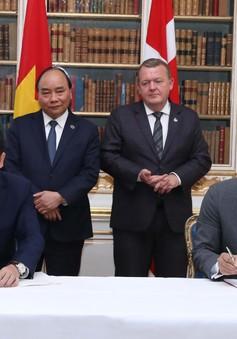 Việt Nam - Đan Mạch ký nhiều thỏa thuận hợp tác