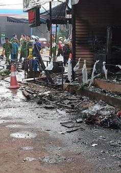Đắk Lắk: Cháy cửa hàng hoa, ba người thương vong