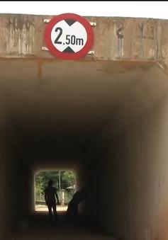 Nhà thầu thi công ẩu làm thấm nước cầu, hầm chui cao tốc Đà Nẵng - Quảng Ngãi