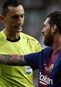 """Trọng tài từng """"giúp"""" Barcelona thắng Real sẽ bắt chính tại Siêu kinh điển"""