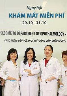 Khám mắt miễn phí cho người dân tại TP.HCM