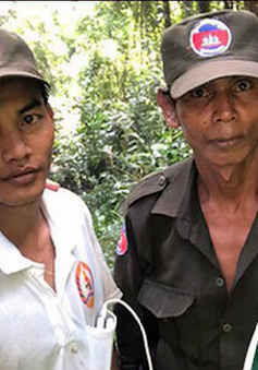 Nhóm tìm kiếm máy bay MH370 suýt mất mạng trong rừng Campuchia