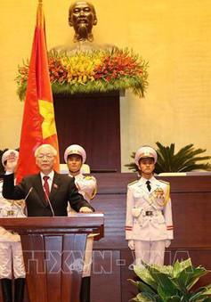 [VIDEO] Chủ tịch nước tuyên thệ nhậm chức