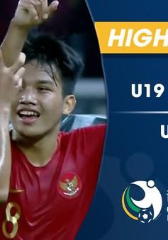 VIDEO: Tổng hợp trận đấu U19 Indonesia 1-0 U19 UAE (Bảng A VCK U19 châu Á 2018)
