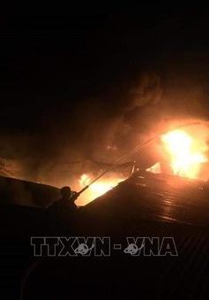 Ba vụ cháy liên tiếp tại Nghệ An