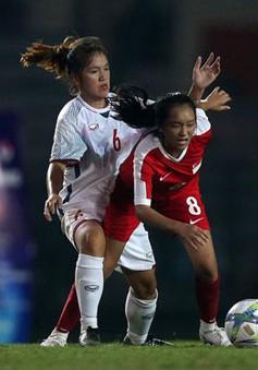 Vòng loại U19 nữ châu Á 2019: U19 nữ Việt Nam thắng đậm U19 nữ Singapore