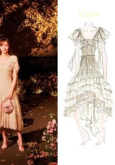 Cận cảnh váy cưới giá 1,3 tỷ đồng của Đường Yên