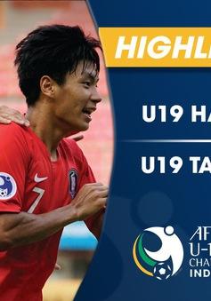 VIDEO: Tổng hợp diễn biến U19 Hàn Quốc 1-0 U19 Tajikistan (Tứ kết VCK U19 châu Á 2018)