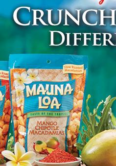 Hãng Mauna Loa Macadamia ở Hawaii thu hồi sản phẩm hạt dinh dưỡng do nhiễm khuẩn E.coli