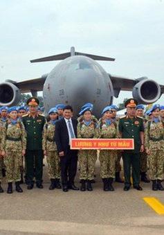 Bệnh viện dã chiến cấp 2.1 của quân đội Việt Nam đã tới Nam Sudan