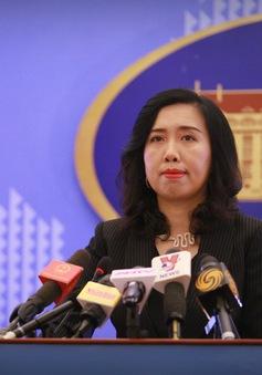 Trao công hàm phản đối tàu Trung Quốc dùng vòi rồng đuổi tàu cá Việt Nam