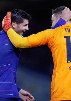 Morata ghi bàn: Thầy khen, đội trưởng ca ngợi