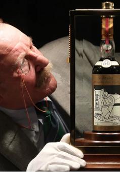 Chai whisky đắt nhất thế giới được bán với giá 1,1 triệu USD