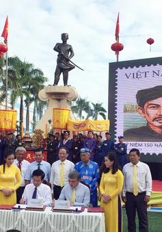 Phát hành đặc biệt bộ tem kỷ niệm 150 năm ngày mất Nguyễn Trung Trực