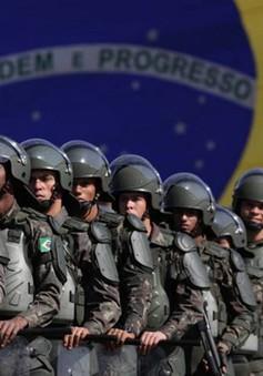 Brazil thắt chặt an ninh trước thềm bầu cử