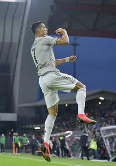 Juventus xây chắc ngôi đầu ngày Ronaldo ghi bàn quyết định