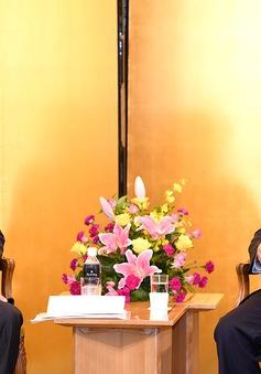 Thủ tướng tiếp một số doanh nghiệp Nhật Bản