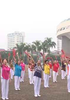 Buổi sáng giàu năng lượng của Hội người cao tuổi quận Ba Đình, Hà Nội