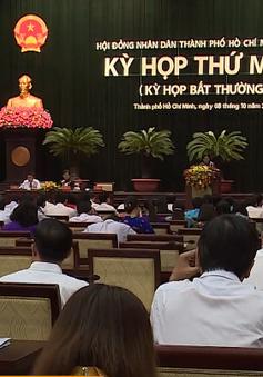 Kỳ họp bất thường của HĐND TP.HCM vừa khai mạc bàn những vấn đề gì?
