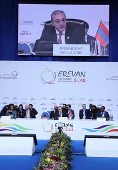 Việt Nam dự Hội nghị Bộ trưởng Pháp ngữ lần thứ 35