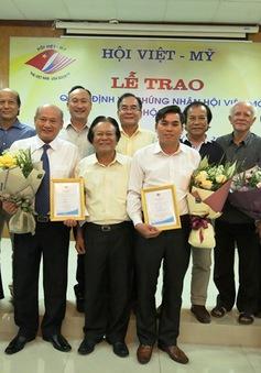 Kết nạp hội viên Hội Việt-Mỹ năm 2018