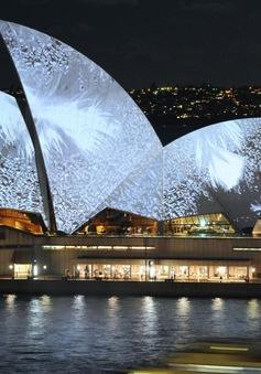 Australia biến nhà hát opera thành biển quảng cáo