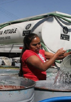 Hàng triệu cư dân thủ đô Mexico lao đao vì mất nước