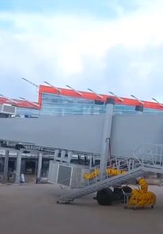Hoàn thành những hạng mục cuối của sân bay Vân Đồn