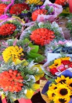 Thị trường ngày 20/11: Giá hoa tăng, người mua ít