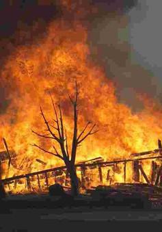 Bang California, Mỹ huy động 200 tù nhân hỗ trợ dập tắt cháy rừng