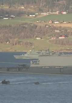 Nga diễn tập bắn tên lửa gần cuộc tập trận của NATO