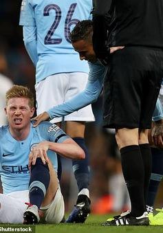 Man City lại nín thở, cầu chúc cho De Bruyne