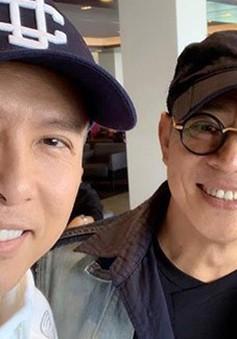 Chia sẻ ảnh selfie tại phim trường Hoa Mộc Lan, Chân Tử Đan hạnh phúc được làm việc cùng Lý Liên Kiệt