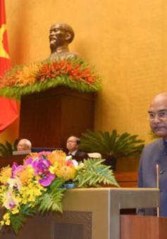 """Tổng thống Ấn Độ: Việt Nam là quốc gia rất quan trọng với chính sách """"Hành động hướng Đông"""" của Ấn Độ"""
