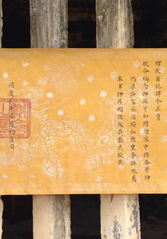 Phát hiện hai đạo sắc phong cổ thời Nguyễn tại Phú Yên