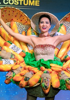 Những bộ trang phục dân tộc độc đáo tại cuộc thi Hoa hậu Hoàn vũ 2018