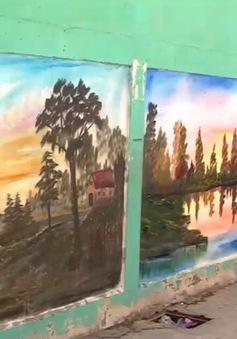 Người họa sĩ già và những bức tranh đặc biệt trong trại tị nạn ở Lebanon