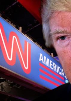 Cao trào cuộc chiến truyền thông và Tổng thống Mỹ Donald Trump