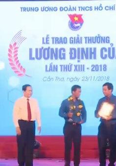 50 thanh niên xuất sắc nhận giải thưởng Lương Định Của lần thứ 13