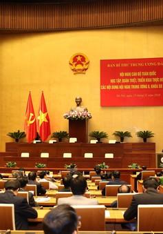 Tổ chức Hội nghị quán triệt Nghị quyết Trung ương 8 khóa XII